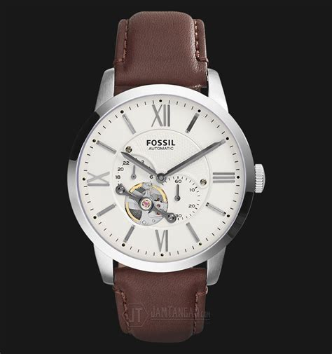 Ready Jam Tangan Fossil Automatic Me3111 Original fossil me3064 townsman automatic brown leather