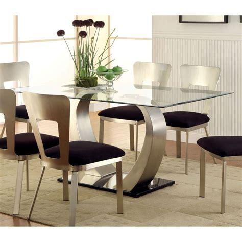 contemporary glass top dining room tables contemporary best 25 glass top dining table ideas on pinterest round
