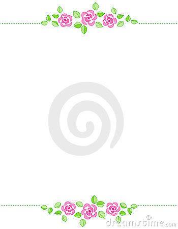 Wedding Card Border Line by Border Wedding Invitation Royalty Free Stock