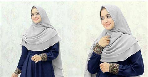 Grosir Murah Baju Jubah Hatina Dress Jersey Navy ayuatariolshop distributor supplier tangan pertama onlineshop gamis syari baju hijabers