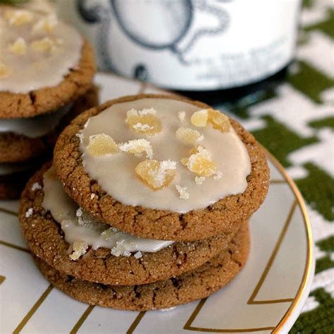 Mr Pat Glaz Cookies a n a recipe for molasses cookies with rum glaze baking the goods