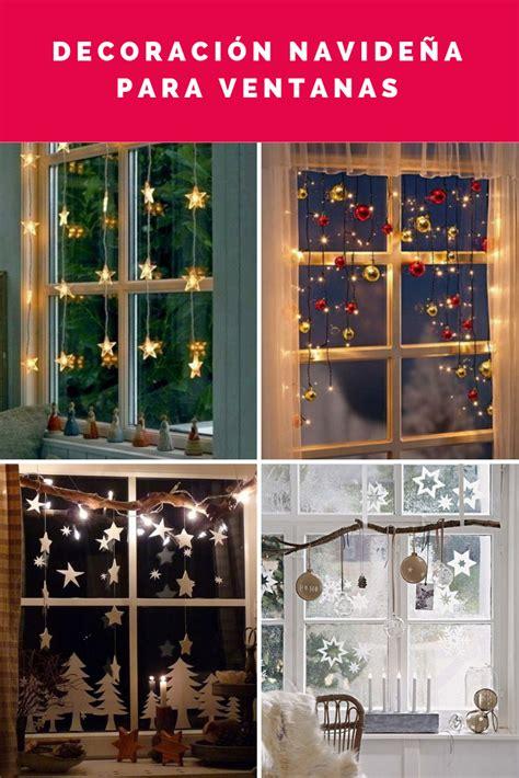 ideas para decorar ventanas exteriores en navidad decoraci 243 n navide 241 a de ventanas decoraci 243 n navide 241 a