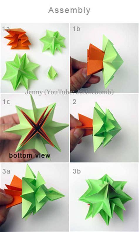 Treemaker Origami Tutorial - tree origami free tutorial craft