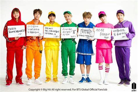 bts official color bts japan official fanclub k pop amino