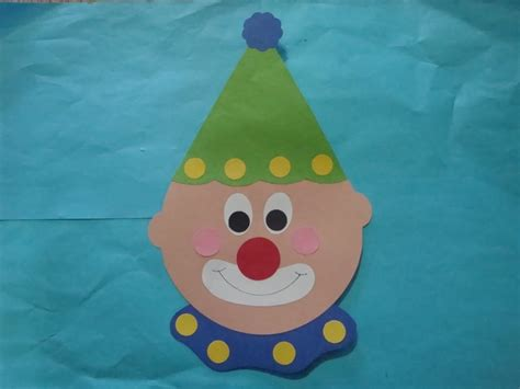 clown crafts for clown craft class crafts