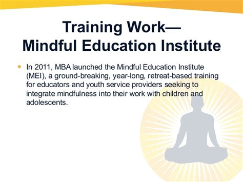 Https Www Edu Mba And Meditation by The Mind Awareness Project Presentation