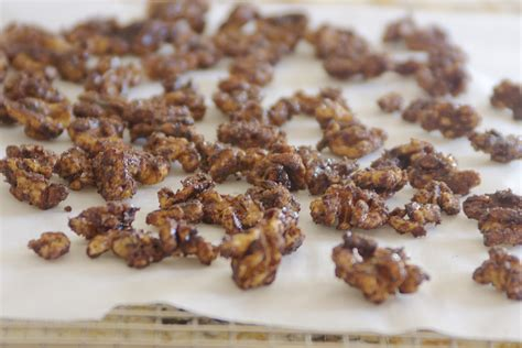 maple pumpkin spice roasted walnuts bite of health nutrition