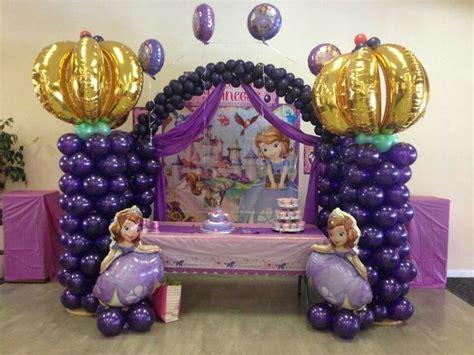 cumplea 241 os decorado de princesa sof 237 a tips de madre sofia the first decoraciones para fiestas festa e decora