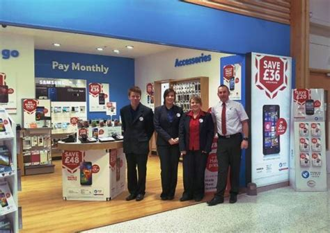 tesco mobile shop most northerly phone shop in the uk opens at tesco wick