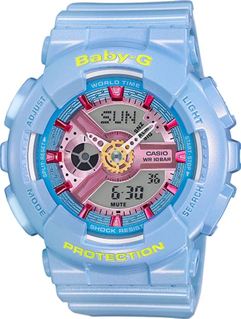 Baby G Casio Dg 120 Blue ba110ca 2a baby g ba 110 series womens watches casio