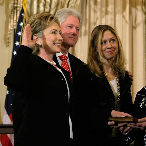 When Did Clinton Take Office by Chelsea Clinton On Whether Future Includes Taking