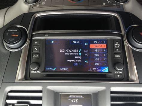 toyota highlander receives  satellite radio treatment