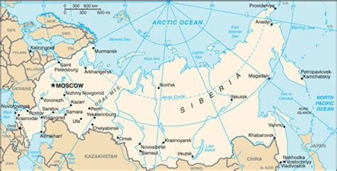 russia map showing cities russia map with cities free pictures of country maps