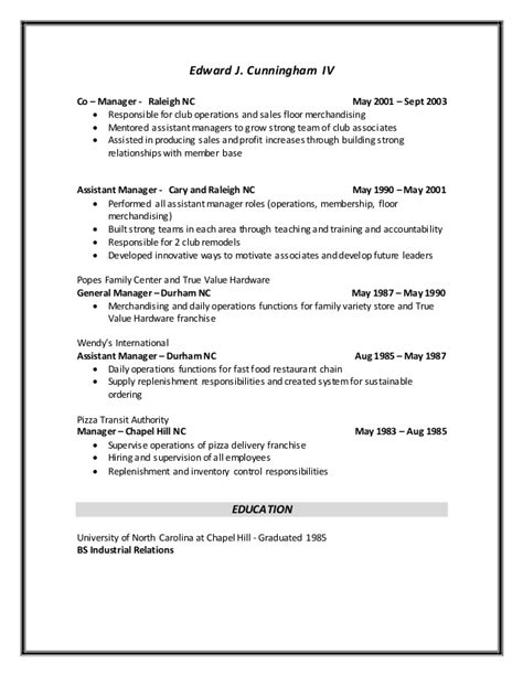 walmart manager resume resume ideas