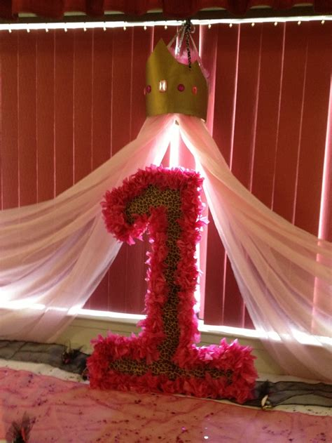 number  st birthday diy crown princess cheetah print  creations birthday princess