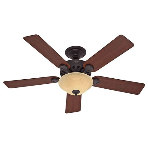 hunter builder elite 52 in indoor new bronze ceiling fan hunter five minute 52 in indoor new bronze ceiling fan