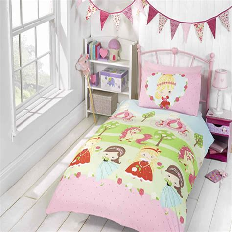 kids bedroom curtains and bedding pretty princess and unicorn girls kids bedroom bedding
