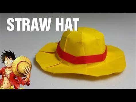Topi Koboi Cowboy Hat Topi Koboi Tali origami cara membuat topi koboy