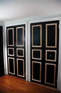 Closet Door Trim Add Trim To A Closet Door Home Decor