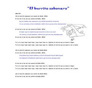 villancico mi burrito sabanero canciones infantiles