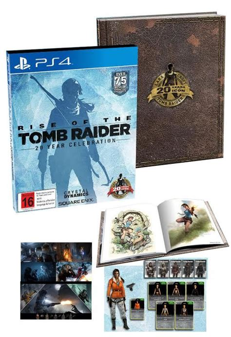 Kaset Ps4 Rise Of The Limited Edition rise of the 20 year celebration limited edition ps4 buy now at mighty ape nz