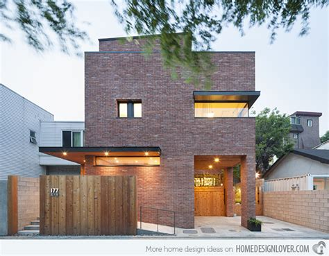 minimalist brick house a minimalist brick house in hyojadong south korea decoration for house