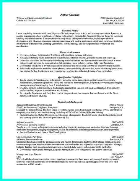 Chef Career Objective Rtf Chef Career Objective Examples