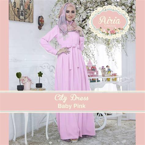 Airia Soft Purple Koko City Dress airia gamis pesta muslim