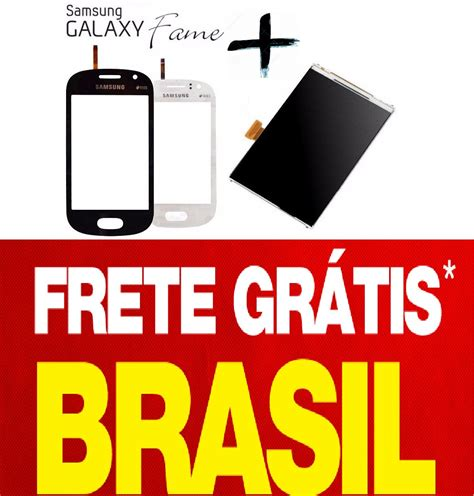Lcd Samsung Galaxy S6810 S6812 Fame tela touch display lcd galaxy fame s6812 s6810 frete