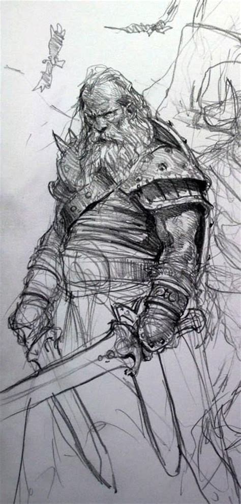 viking sketch artist unknown the viking way