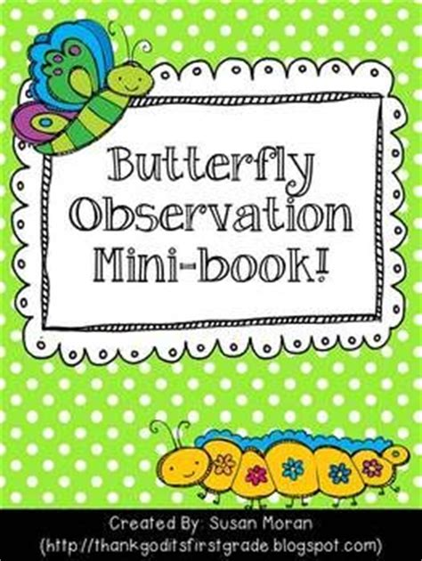 printable caterpillar observation journal butterfly life cycle observation booklet teaching