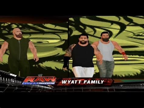 how to mod in wwe the game game play wwe 13 wyatt family hack youtube