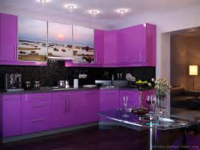 Purple Kitchen Backsplash Pictures Of Modern Purple Kitchens Design Ideas Gallery
