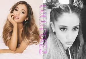 whats up with grandes hair ariana grande hair news and photos perez hilton