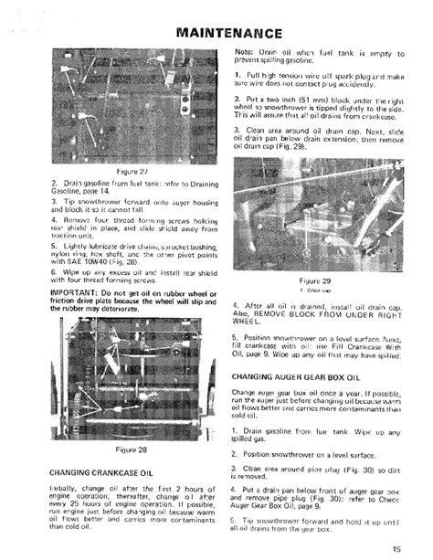 Toro 38040 524 Snowblower Owners Manual 1981 1984 English
