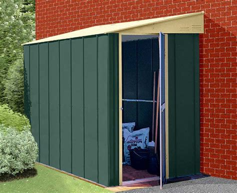Lean To Shed by Lean To Garden Sheds Build An Affordable 10 215 12 Shed