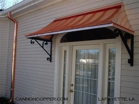 copper awning over door pin copper awning over french doors 2 on pinterest