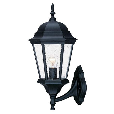 Outdoor Lighting Fixtures Wall Mount Acclaim Lighting Naples Collection 3 Light Matte Black Outdoor Wall Mount Light Fixture 2122bk