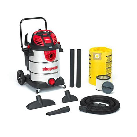 Shop Vaccums shop shop vac 16 gallon 6 5 peak hp shop vacuum at lowes