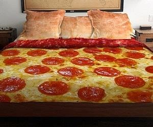 pizza bed sheets i waste so much money pizza bedding