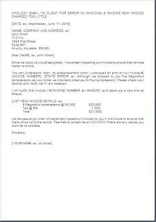 Complaint Letter Wrong Billing Apology Letter To Customer For Wrong Billing