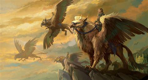 animal mitologico grifo grifo seres mitol 243 gicos y fant 225 sticos