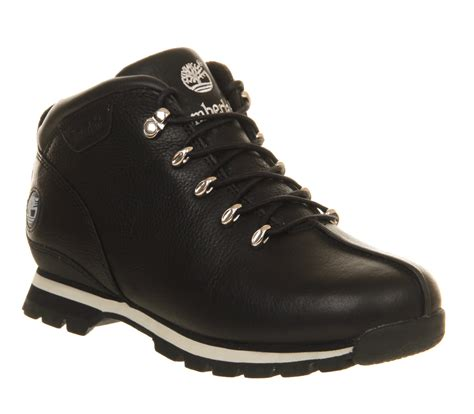 Chaussure De Securite Timberland 5754 by Timberland Splitrock Hiker Black Tumbled Leather Boots