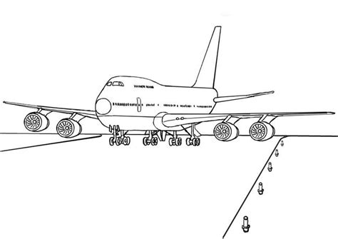 787 Coloring Page by 747 Airplane Coloring Page Coloring Book