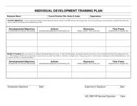 Idp Template by Best Photos Of Individual Development Plan Template