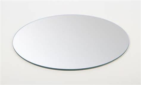 set of 12 10 quot round glass centerpiece mirrors