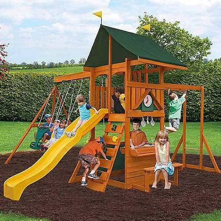 swing sets at walmart cedar summit laurentian cedar wooden swing set walmart com