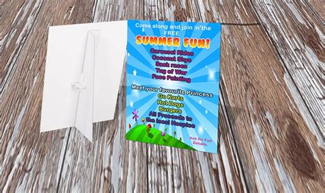 strut card template strut cards printworthy leaflet and printing based in