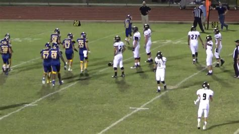 comfort high school football offensive highlights pre district comfort high school
