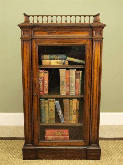 small william iv rosewood bookcase cabinet antiques atlas